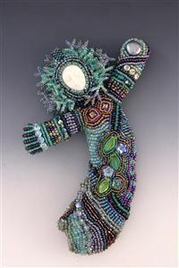 HEALING DOLLS bead doll, beauti bead, seed beads