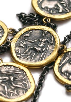 Lika Behar Alexander The Great Coin Necklace | Oster Jewelers, Denver Colorado