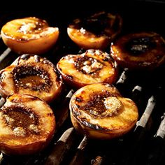 Grilled Georgia Peaches #myplate #desserts #fruit