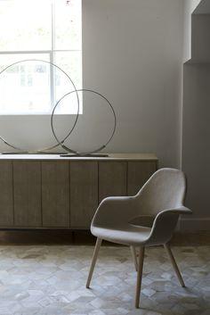 HD Buttercup modern sitting area.  #HDButtercupxgoop