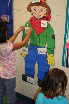 Mrs. Lee's Kindergarten: Scarecrows!