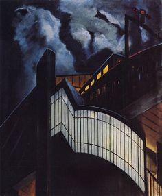 Walter Schulz-Matan, Station de Metro - Paris, 1928
