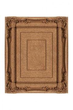 Cork Board Picture Frame.