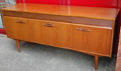 Vintage Retro 1960s 1970s Mid Century Modern Teak Sideboard by Grange, London on eBay