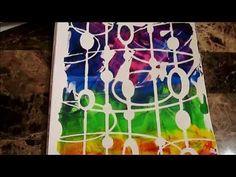 Uploaded videos (playlist) Nikki has really awesome prints! gelli print, gelliprint, gelli plate printing