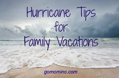 How I hate that you might need these but if you are going to the beach, its good to be prepared ~ 6 Hurricane Tips for Family Vacations #summer #familytravel #vacation