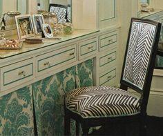 makeup vanities, chairs, dress tabl, dressings, bathrooms, vanity area, zebra, master baths, dressing area