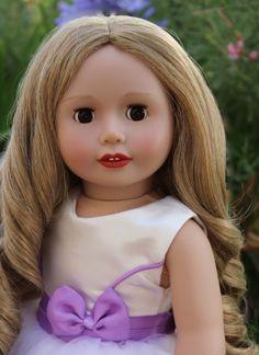 "18"" Harmony Club Doll, Sara Grace. Visit her at www.harmonyclubdolls.com"