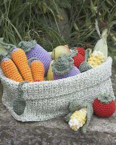 crochet veget, christmas crafts, sugarn cream, knitting patterns, children toys