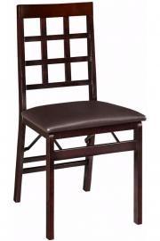 Window Pane Foldable Chair