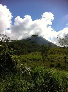 Arenal Volcano, Costa Rica #travel #explore #adventure #studyabroad