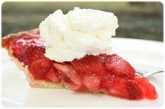Strawberry Pie .