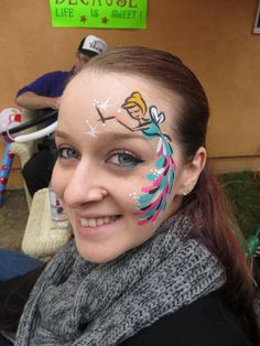 The added touch to any party, a good face painter.....even the adults loved having their faces painted.