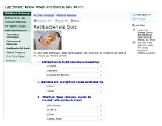"""The CDC has a """"Get Smart about Antibiotics"""" campaign in which they use """"antibiotics"""" probably 10 million times.  This image shows one page modified to use """"antibacterials"""" instead.   As a thought experiment, how many people will answer """"Viruses"""" to """"Antibacterials fight infections caused by...""""?  I'm guessing pretty darn close to zero.  That's why the word is so much better than """"antibiotics."""""""