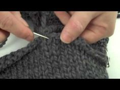 How sew a perfect shoulder seam - I always forget how to do shoulder seams & this video is AMAZING! even with varigated yarn, my seams are looking great!