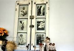 Decorating with old window frames - Bing Images