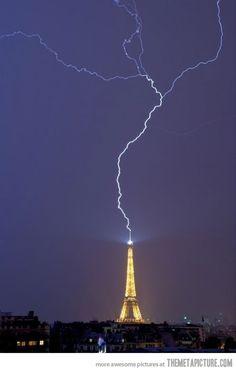 amazing....  Google Image Result for http://static.themetapicture.com/media/funny-lightning-bolt-Eiffel-tower.jpg