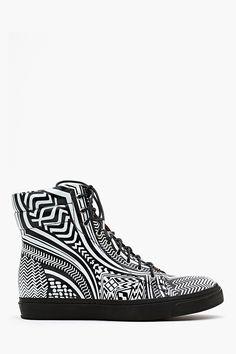 Flavia Hi Sneaker - Graphic