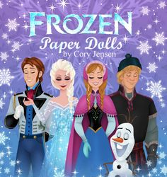 The Binder Ladies - Saving you more so you can spend less! Reviews, Giveaways, Coupons & More!: Paper Dolls: FREE Disney's Frozen Paper Doll Printables!