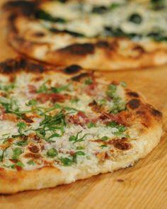 Ham and Peas Pizza Recipe