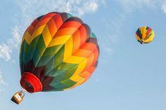 Balloons take flight at the Hudson River Rowing