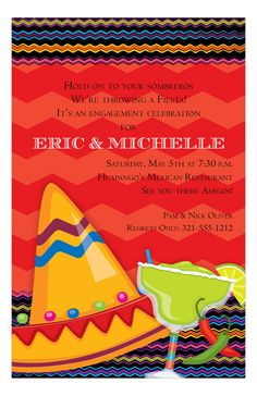 Fiesta Fun Invitation