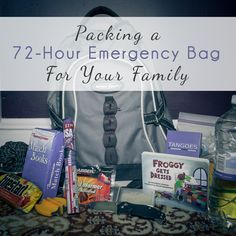 Daily Mom » Packing a 72-Hour Emergency Bag for Your Family