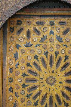 Moroccan door detail