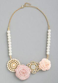 pearl, statement necklaces, accessori, collect necklac, wedding bridesmaids, vintage necklaces, charm collect, vintage inspired, retro vintage