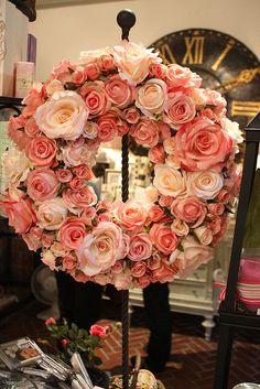 roses wreath