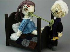 exorcist + crochet