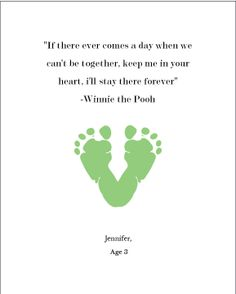 toddler footprint quotes quotesgram