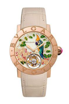 Relojes de élite a todo color: Bvlgari Jardín Tropical