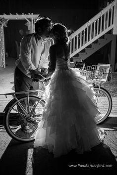Mackinac island wedding bike photography #love #bikes