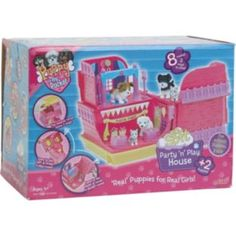 "Puppy In My Pocket ""Party 'n' Play House"" Playset (U.K.)"