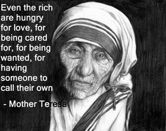 Mother Teresa with Quotes Wallpaper