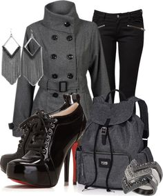 """""""Military flair #5"""" by tchantx on Polyvore"""