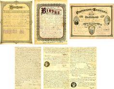 family tree records