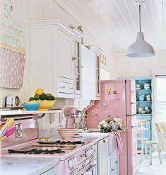 Sweet indulgence retro kitchen