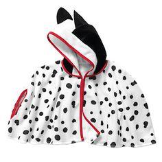 Capa con capucha de carnaval para niño-niña