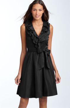 Suzi Chin for Maggy Boutique Ruffled Cotton Blend Dress available at #Nordstrom