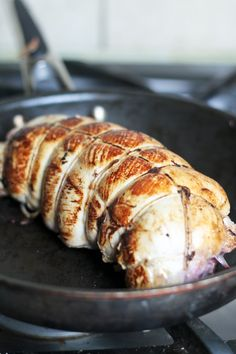 apple, cranberry & goat cheese stuffed turkey breast