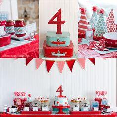 birthday set up