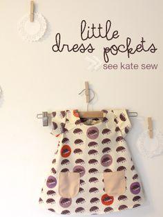 little dress pockets pattern