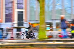 Blurr - Cruising down an Amsterdam Canal via: Behind The Lens Lukey #travel #photography