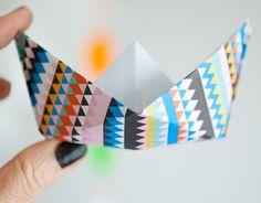DIY Origami Boat