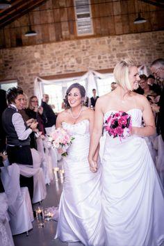 Lesbian Wedding: Carmella & Denise, 02 Apr 2013