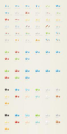 Sweetie, un pack de 120 icônes pour vos webdesigns