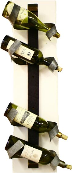 locally made wine barrel accessories - including wine bottle holders. $65 chili pepper wood works
