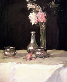 Jonquils and Silver John Duncan Fergusson (1905)